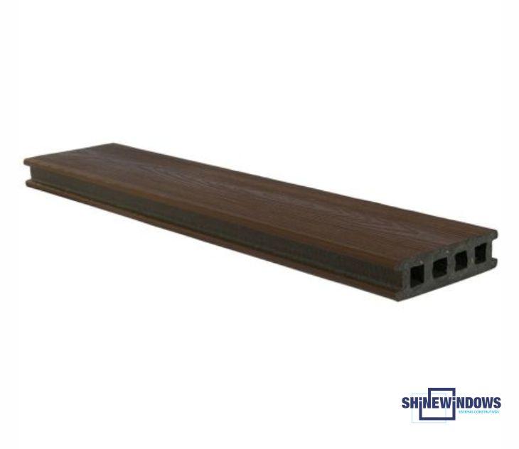 Deck de PVC 120 x 32 mm